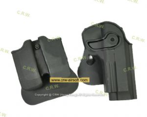 CM Polymer Paddle Holster Magazine Carrier set for M92